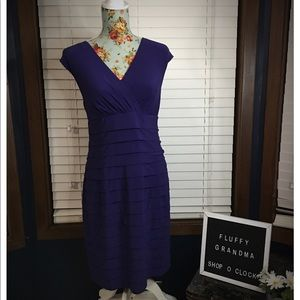 American Living Purple Bandage Dress 12